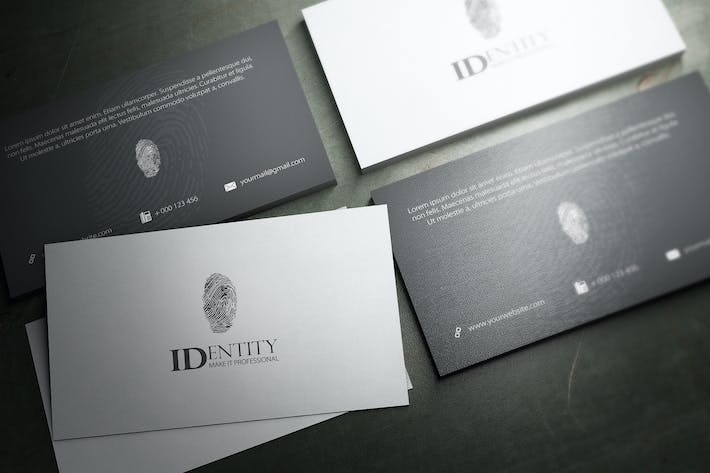 Thumbnail for Identity Business Card Design