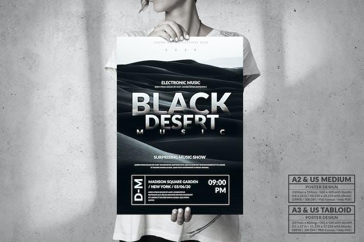 Thumbnail for Black Desert Music Evénement - Grande fête Poster