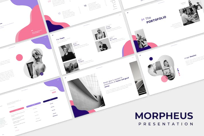 Cover Image For Morpheus Powerpoint