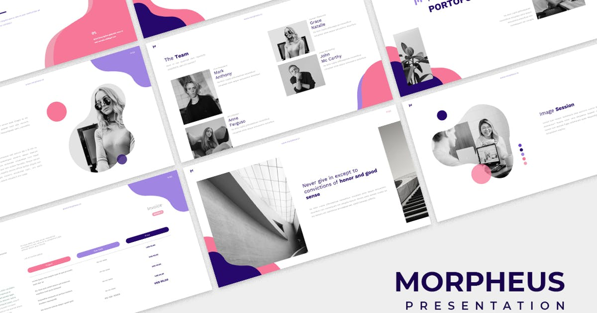 Download Morpheus Powerpoint by VisualColony
