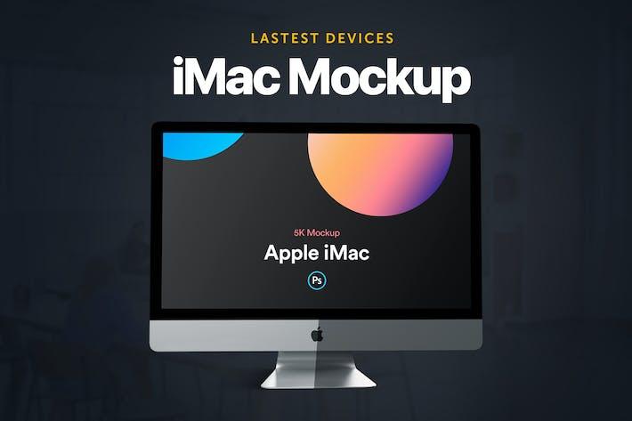 Thumbnail for iMac 2019 Mockup