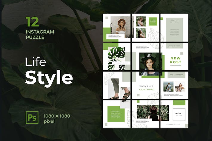 Thumbnail for Instagram Puzzle Lifestyle
