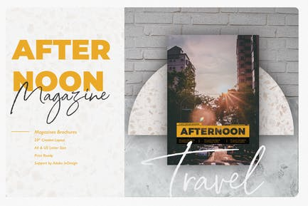 Afternoon A Good Template Magazine