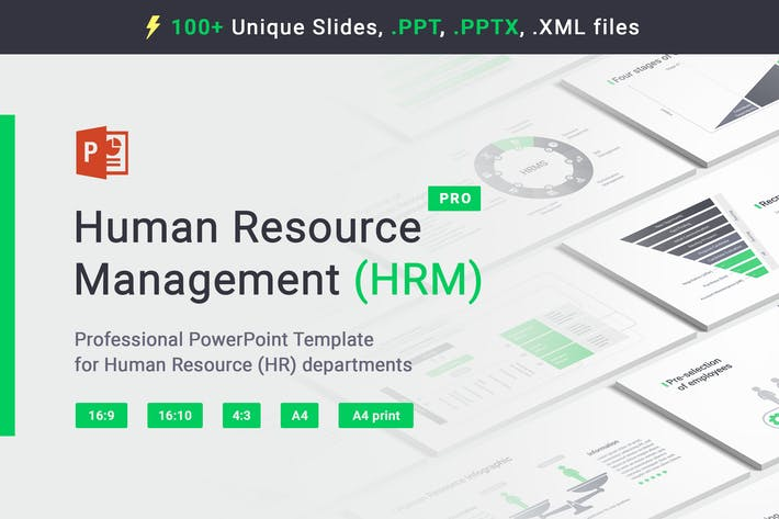 Human Resource HRM PowerPoint Template