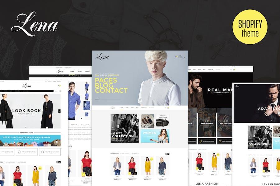 Lena | Responsivo Shopify Tema