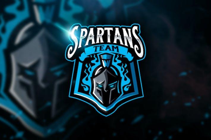 Thumbnail for Spartans Team - Mascot & Esport Logo