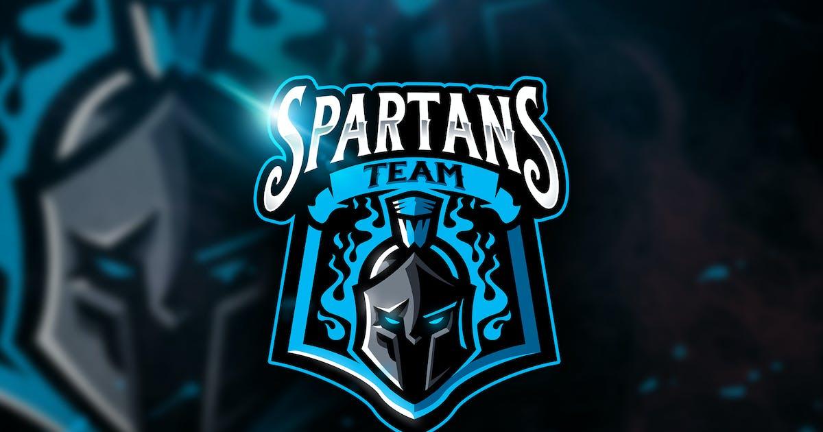 Download Spartans Team - Mascot & Esport Logo by aqrstudio