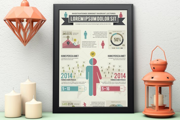 Thumbnail for Infographics Template – Demographics