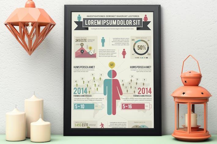 Thumbnail for Infographics Template – Demographics