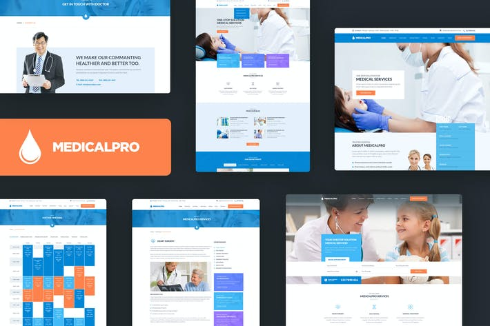 Thumbnail for MedicalPRO - Health and Medical HTML Template