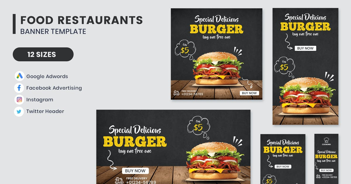 Download Food Banner Template by nanoagency
