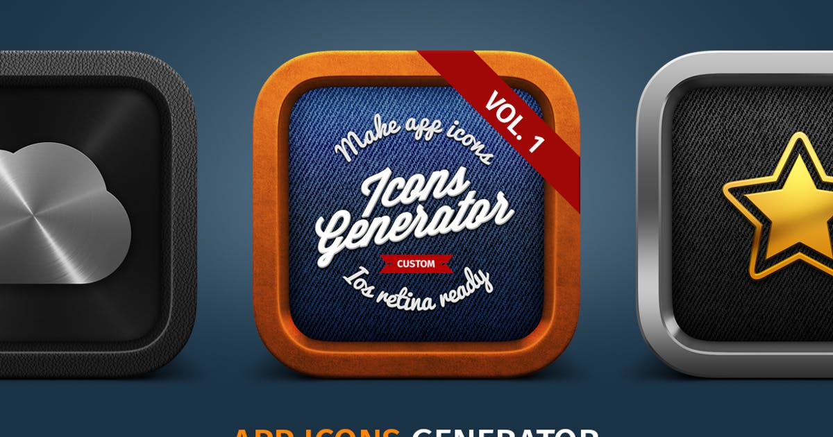 Download APP Icons Generator vol. 1 by TIT0