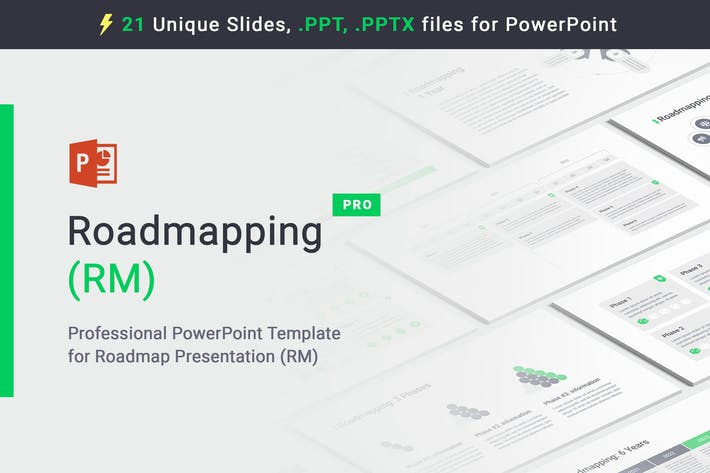 Thumbnail for Roadmapping for PowerPoint
