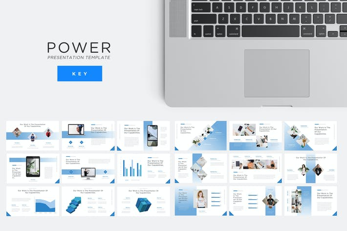 Thumbnail for Power - Technology Keynote Presentation Template