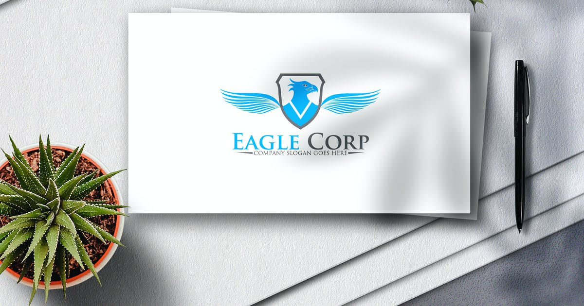 Download Eagle Corp Logo by Voltury