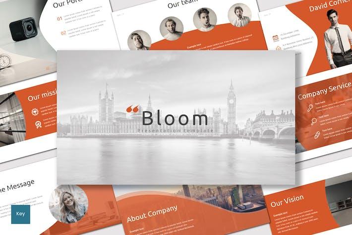 Bloom - Keynote Template