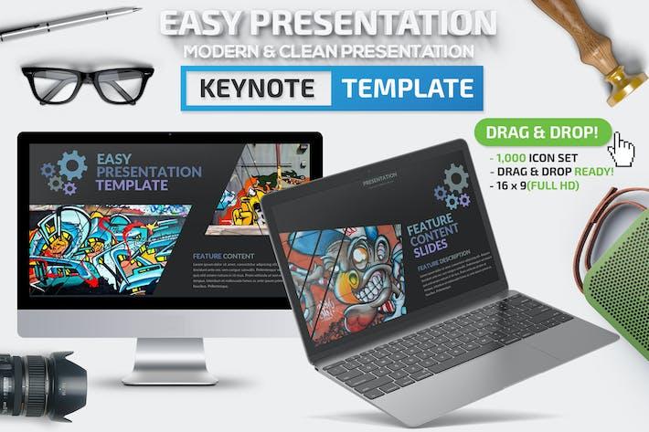 Thumbnail for Easy Keynote Presentation
