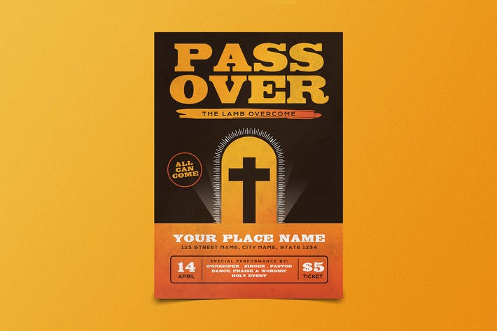 Thumbnail for Easter Passover Flyer