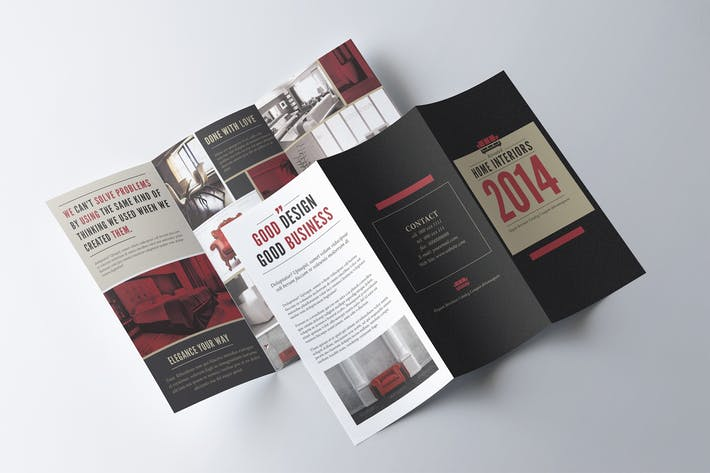 cover image for trifold brochure template