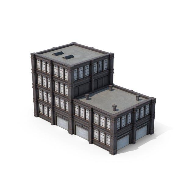 Fabrik-Gebäude