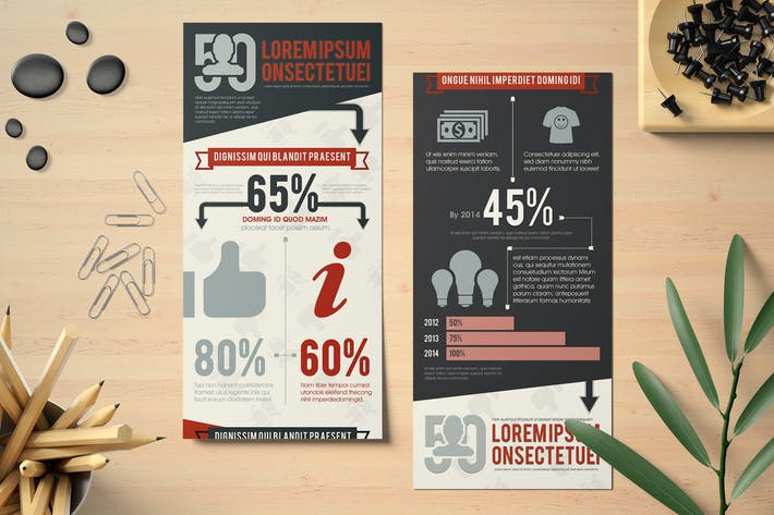 Thumbnail for Multipurpose Infographics Template