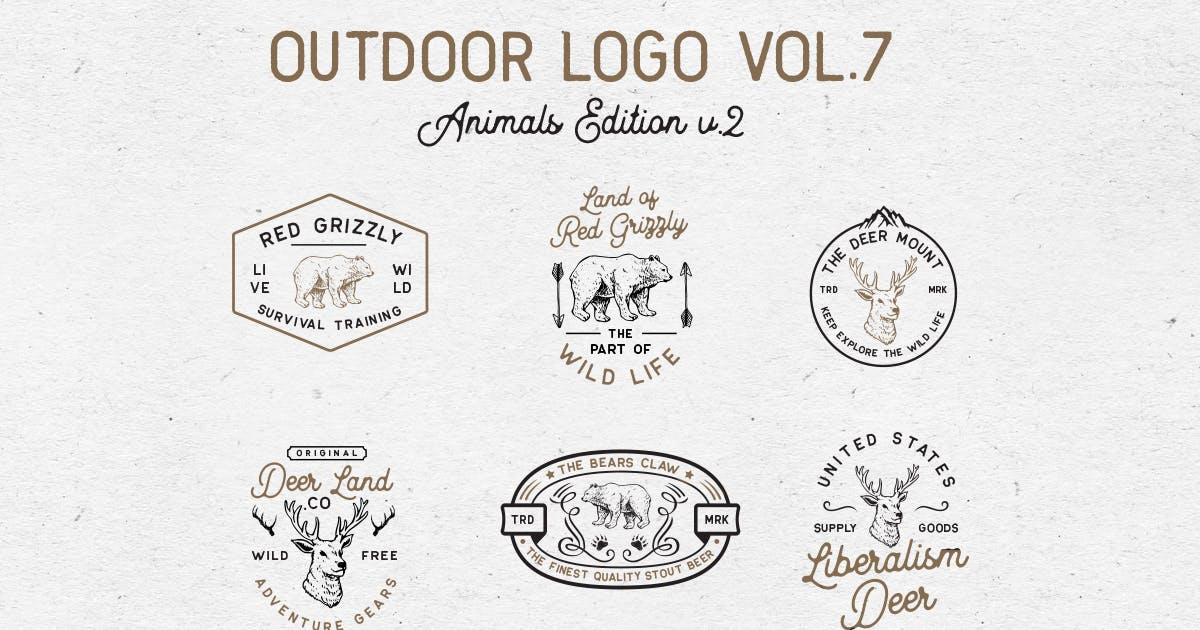Outdoor Logo Vol.7 by letterhend