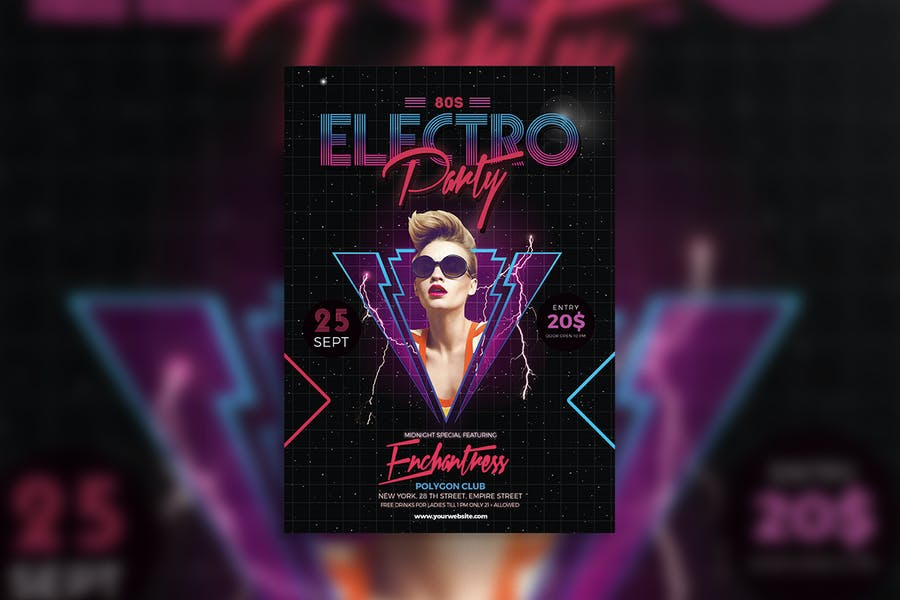 80s Electro music Party