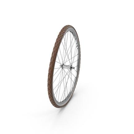Fahrrad vorne gebogen Rad