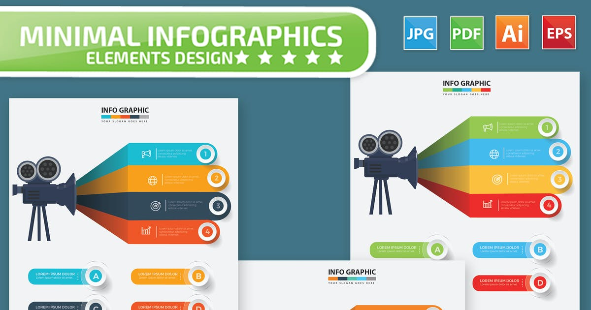 Download Movie Infographics Design by mamanamsai