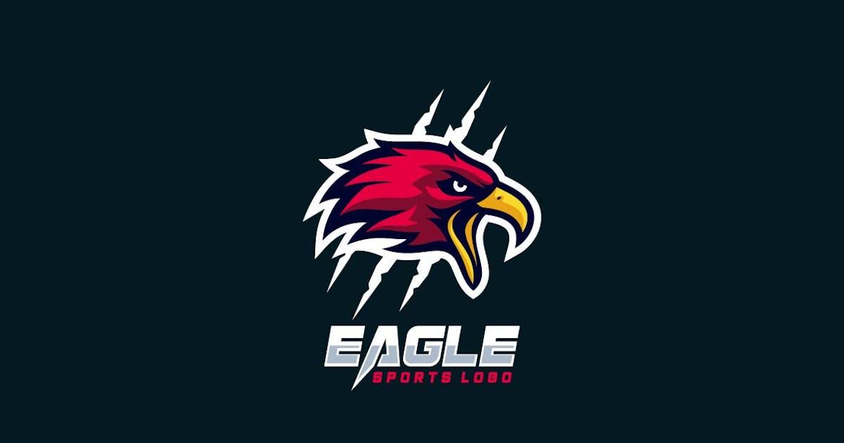 Download Eagle Head Mascot Sports and E-sports Style Logo by ivan_artnivora