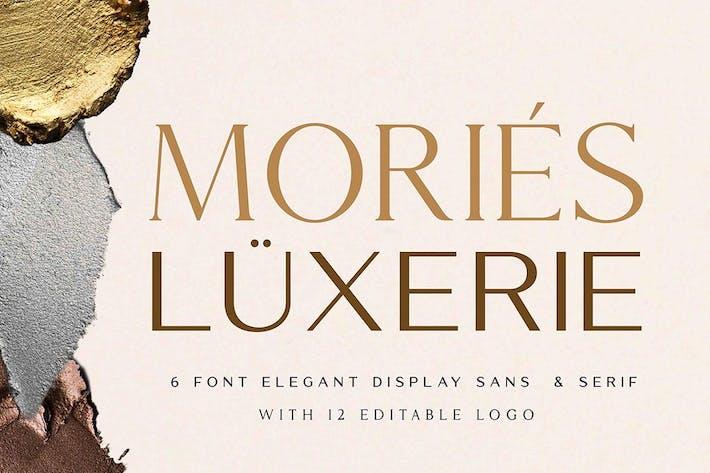 Mories Luxerie - Elegante Display Sans & Con serifa