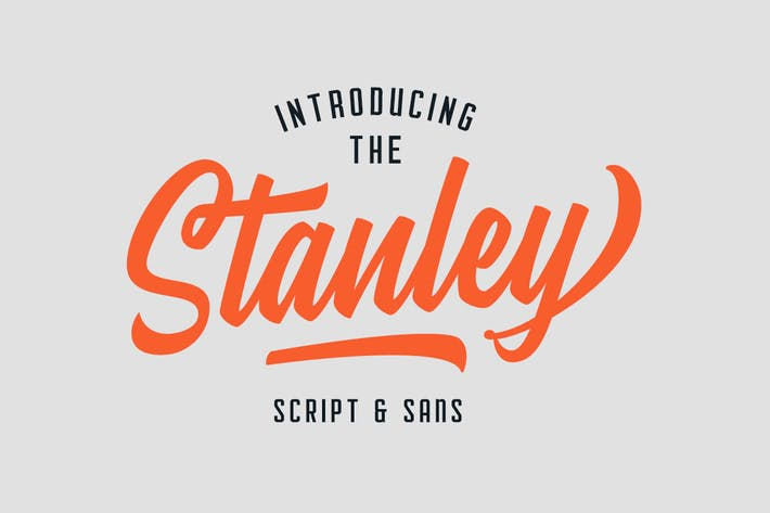 Thumbnail for Stanley Font Duo