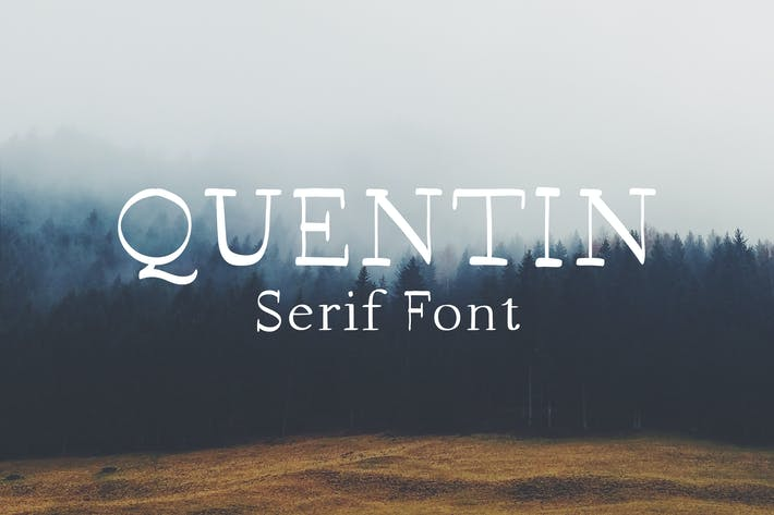 Thumbnail for Quentin Handmade Serif Font