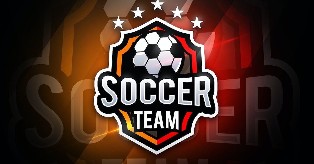 Download Soccer Team - Mascot & Esport Logo by aqrstudio