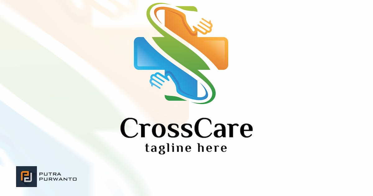 Download Cross Care - Logo Template by putra_purwanto