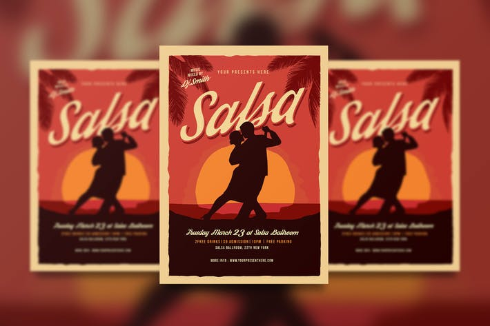 Thumbnail for Salsa Dance Flyer