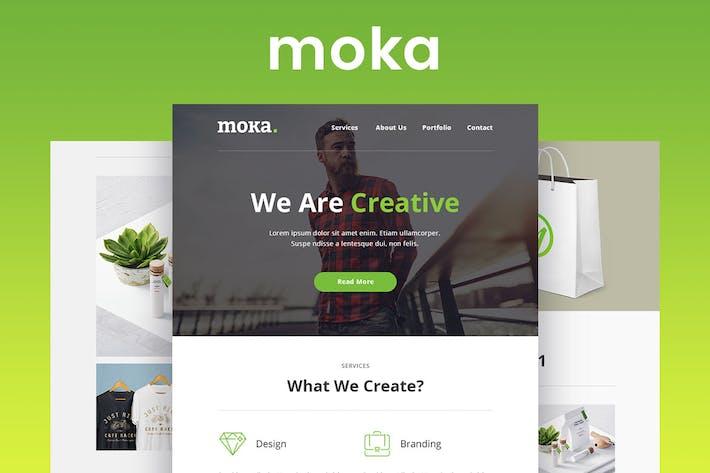 Thumbnail for Moka - Plantilla de Correo electrónico Responsivo y Boletín informativo