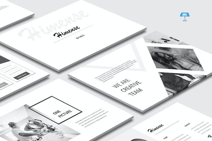 Thumbnail for Himense - Шаблон Keynote