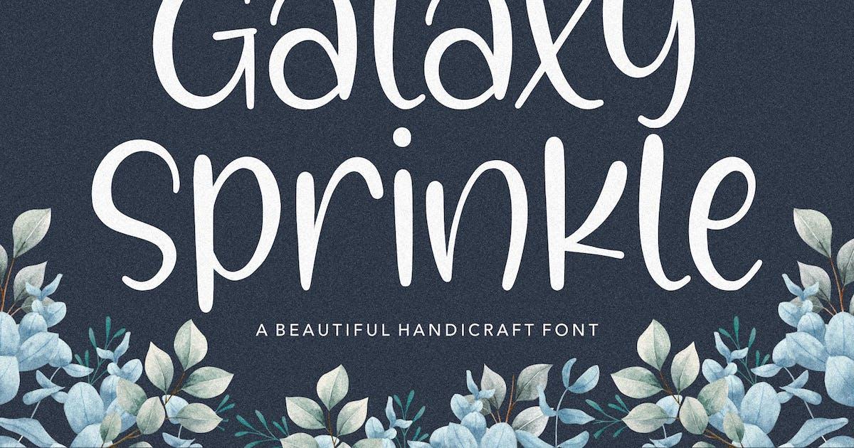 Download Galaxy Sprinkle Script Font YH by GranzCreative