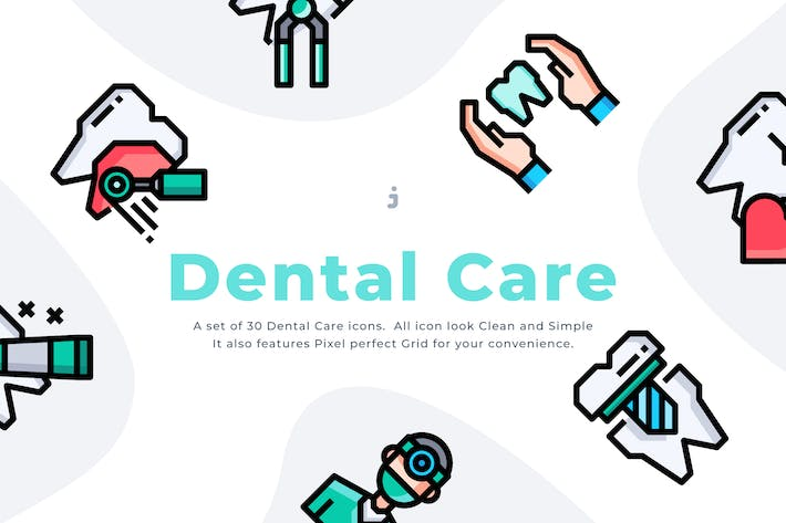 30 Dental Care Icon set