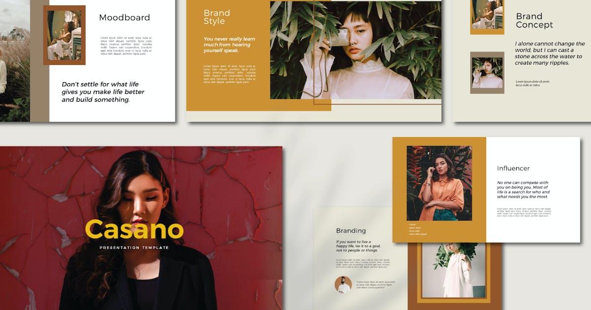 Download Casano Keynote Template by axelartstudio