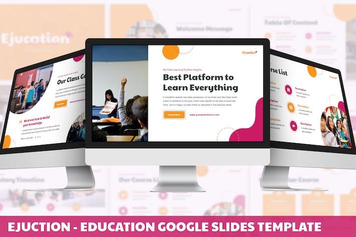 Thumbnail for Ejucation - Education Google Slides Template