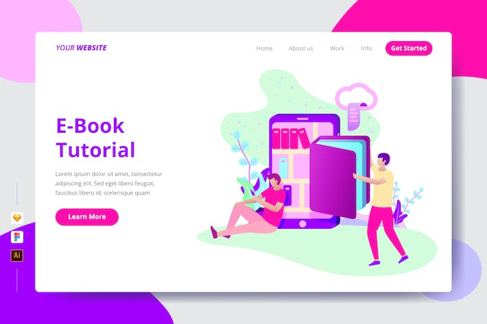 Thumbnail for E-Book Tutorial - Landing Page