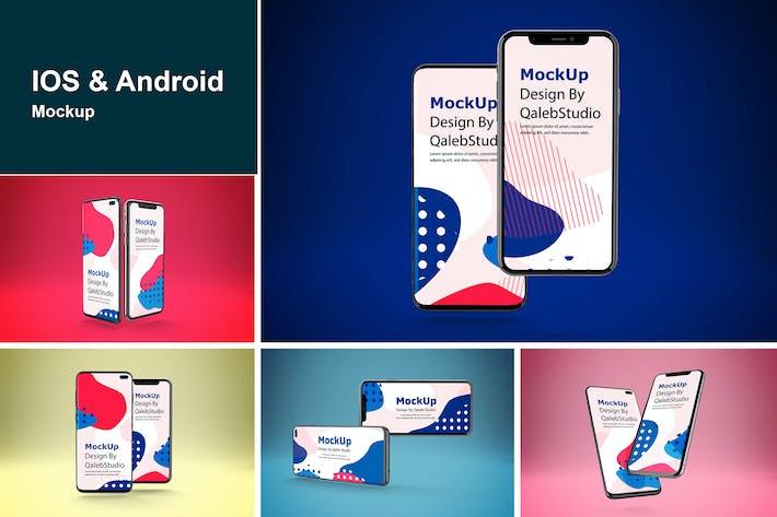 Thumbnail for IOS & Android MockUp
