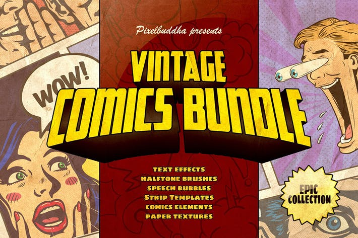 Thumbnail for Marvelous Vintage Comics Bundle