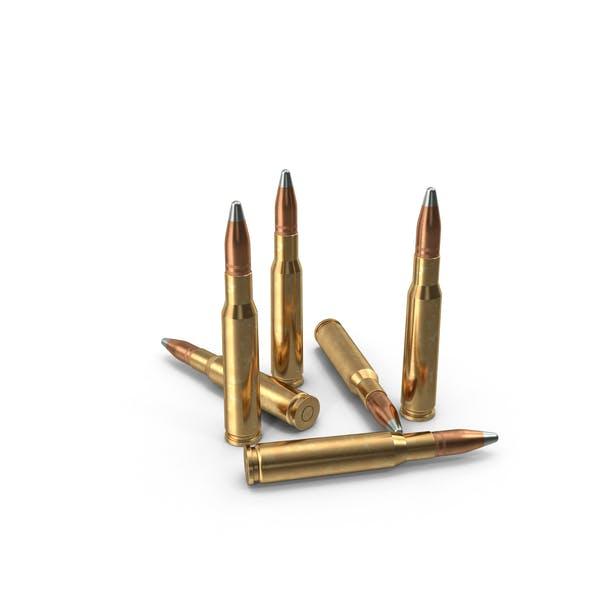 50 balas de calibre