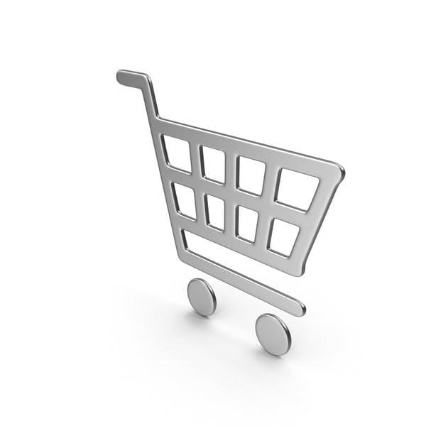 Thumbnail for Silver Shopping Basket Icon
