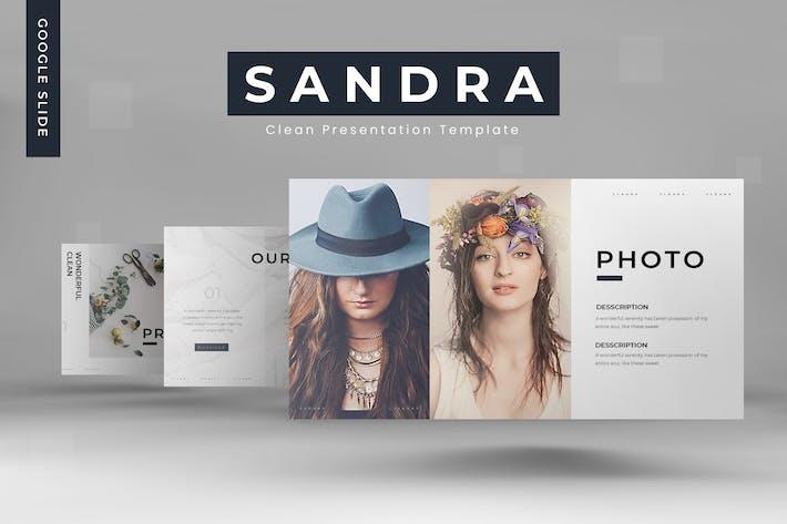 Thumbnail for Sandra - Google Slides Template