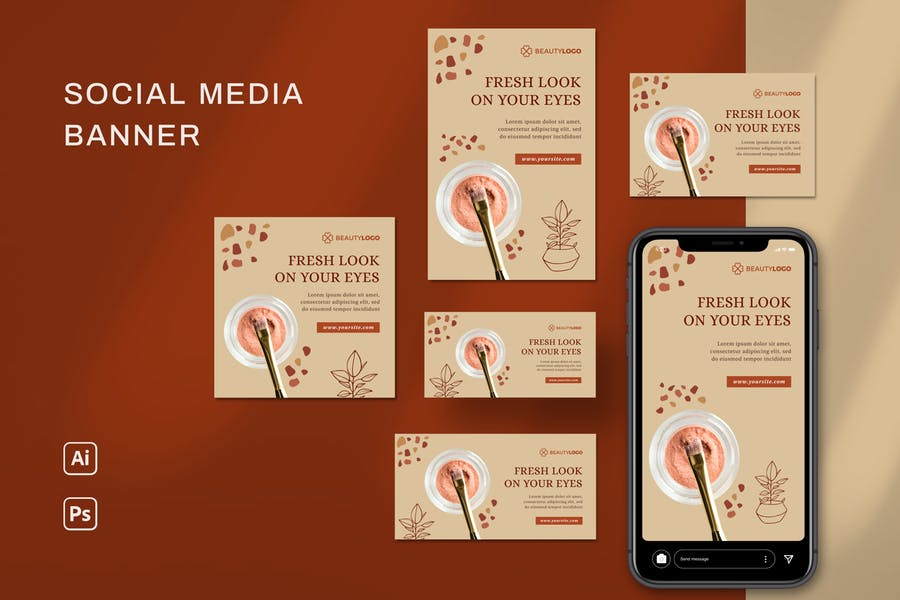Social Media Banner - product preview 3