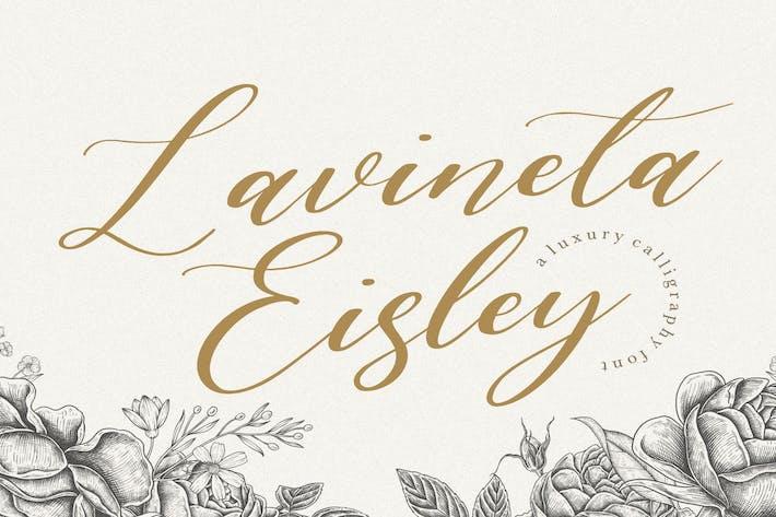 Thumbnail for Lavineta Eisley YH - Police de script moderne